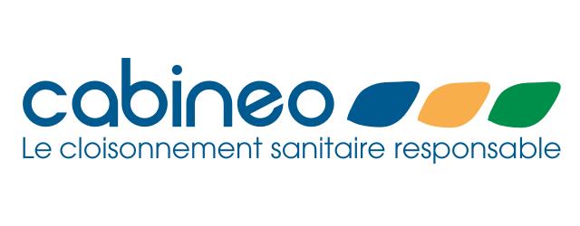 """Logo Cabineo """" Le cloisonnement sanitaire responsable """"."""