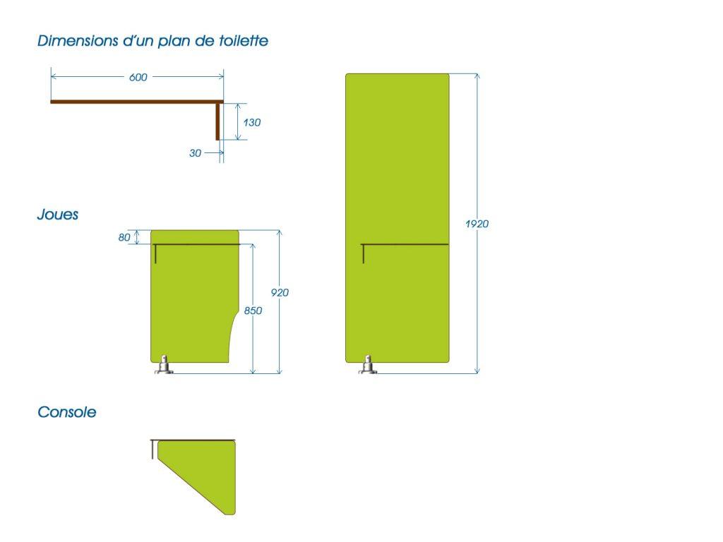 plan de toilette cabineo. Black Bedroom Furniture Sets. Home Design Ideas