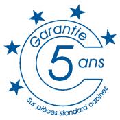 Logo garantie cabineo 5 ans
