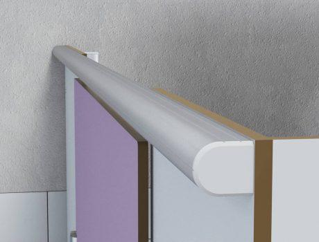 Bouchon de bandeau de façade Cabineo