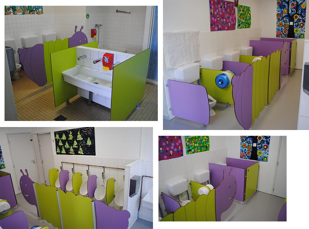 Ecole maternelle du Pallet 44 -Photos de la rénovation des sanitaires-min