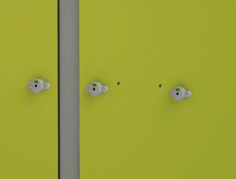 Cabines INTIMEO - Double verrou PMR - Façade