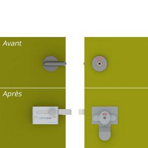 Images Actus salons 2018 - Kit de remplacement de verrou pivotant