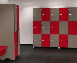 Casiers salle de sport - cabineo