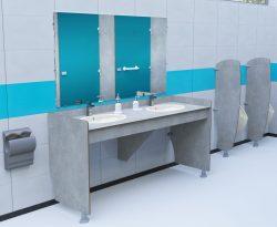 Plan de toilette de Cabineo