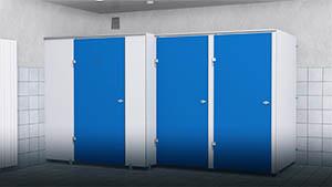 Cabines PRIMEO - Ecoles, salles de sport, ... - Cabineo