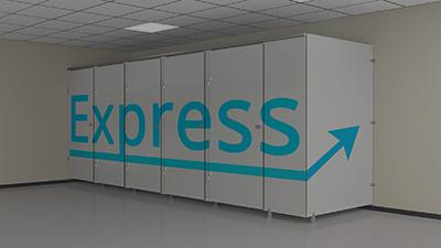 PRIMEO Express : expédition de cabines standard prêtes-à-poser sous 8 jours chrono !