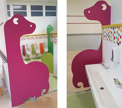 Ecole maternelle de Nérac (47) - Séparation DIPLO - agenceur d'espaces