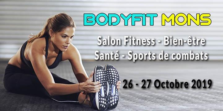 BodyFit Mons Salon Fitness - Bien-être - Santé - Sports de combats - Belgique - octobre 2019