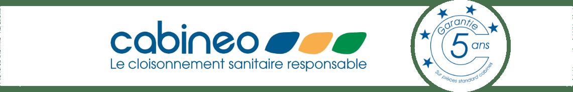 Cabineo - Le cloisonnement sanitaire responsable - Garantie 5 ans