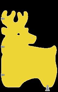 Écran de discrétion crèche CARIBOU - Cabineo