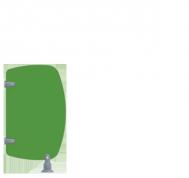 Séparatif d'urinoirs maternelles SU600P - Cabineo