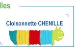 Cloison CHENILLE extensible et autonome
