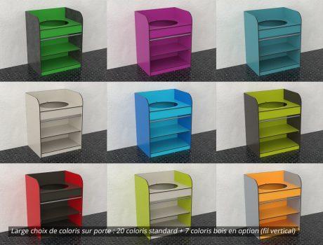 Bloc lavabo - 20 coloris disponibles - Cabineo