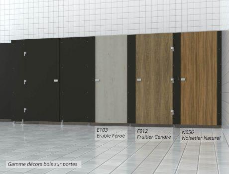 Décors bois sur porte - autres - E103 - F012 - N056 - Cabineo