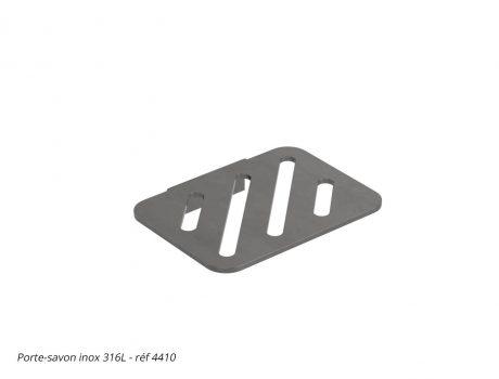 Porte-savon inox 316L - réf 4410 - Cabineo